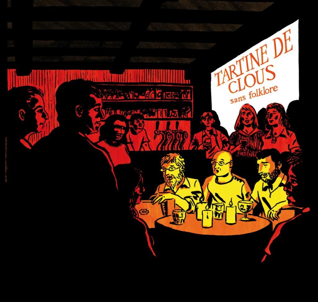 sans folklore, 1er album de Tartine de clous sur Saintonge Records